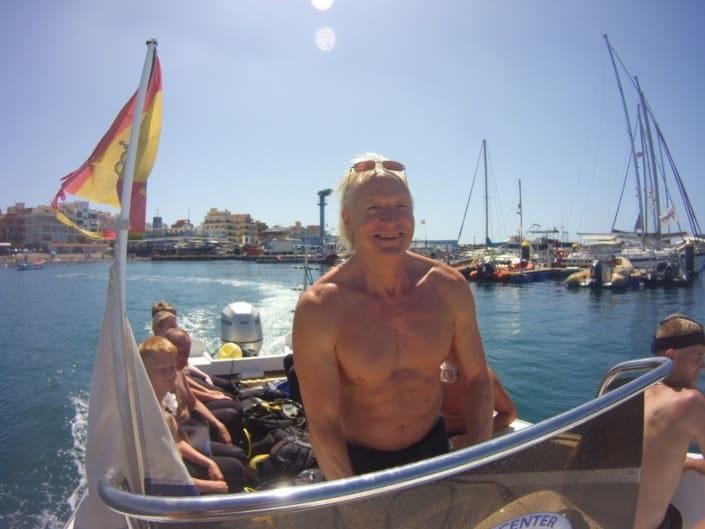 Buceo con barco