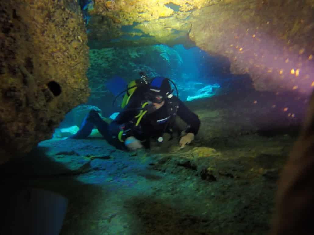 inmersión en el túnel en las Eras