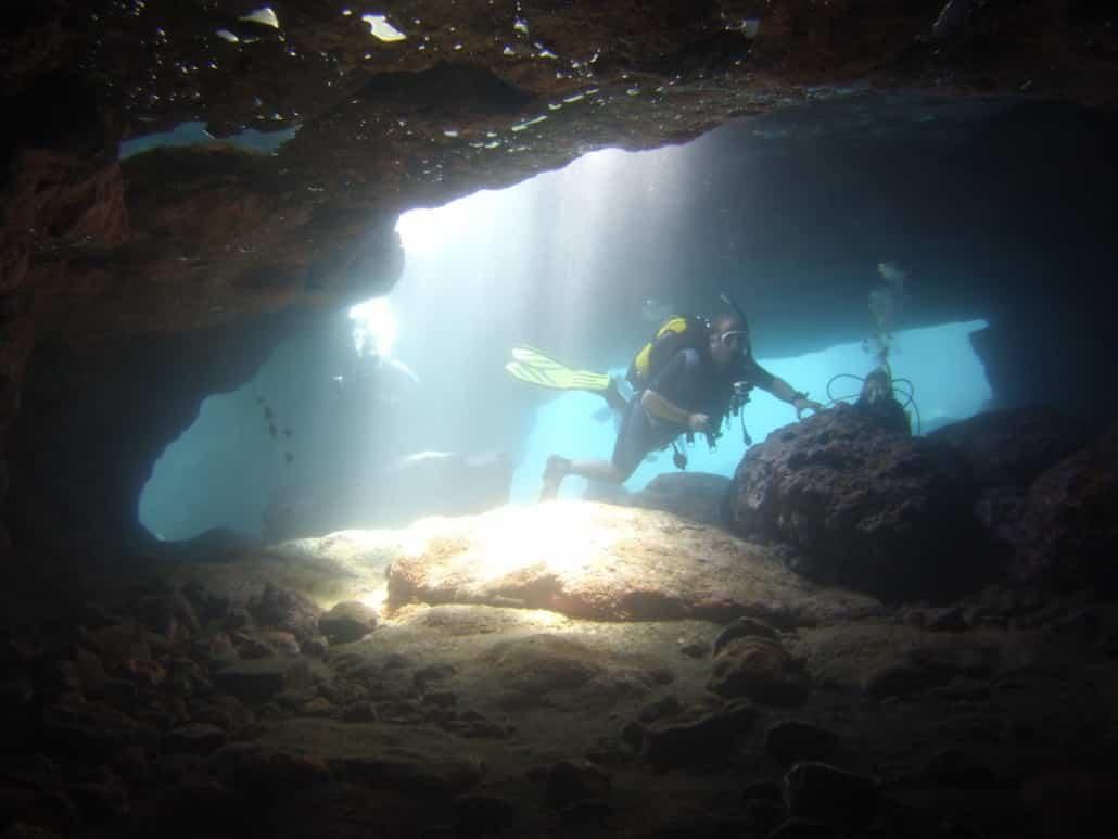 inmersión en Los Abrigos