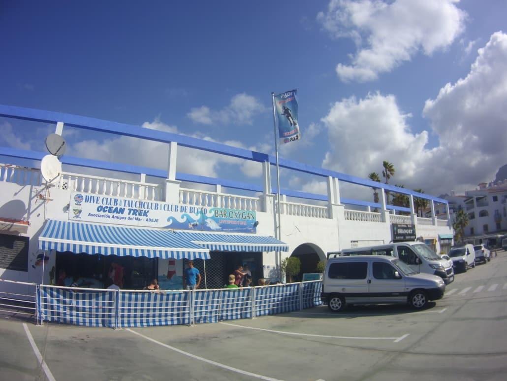 Club de buceo ocean trek