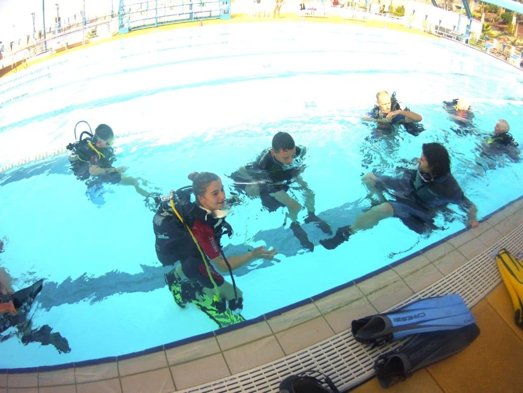 practicas de owd en piscina