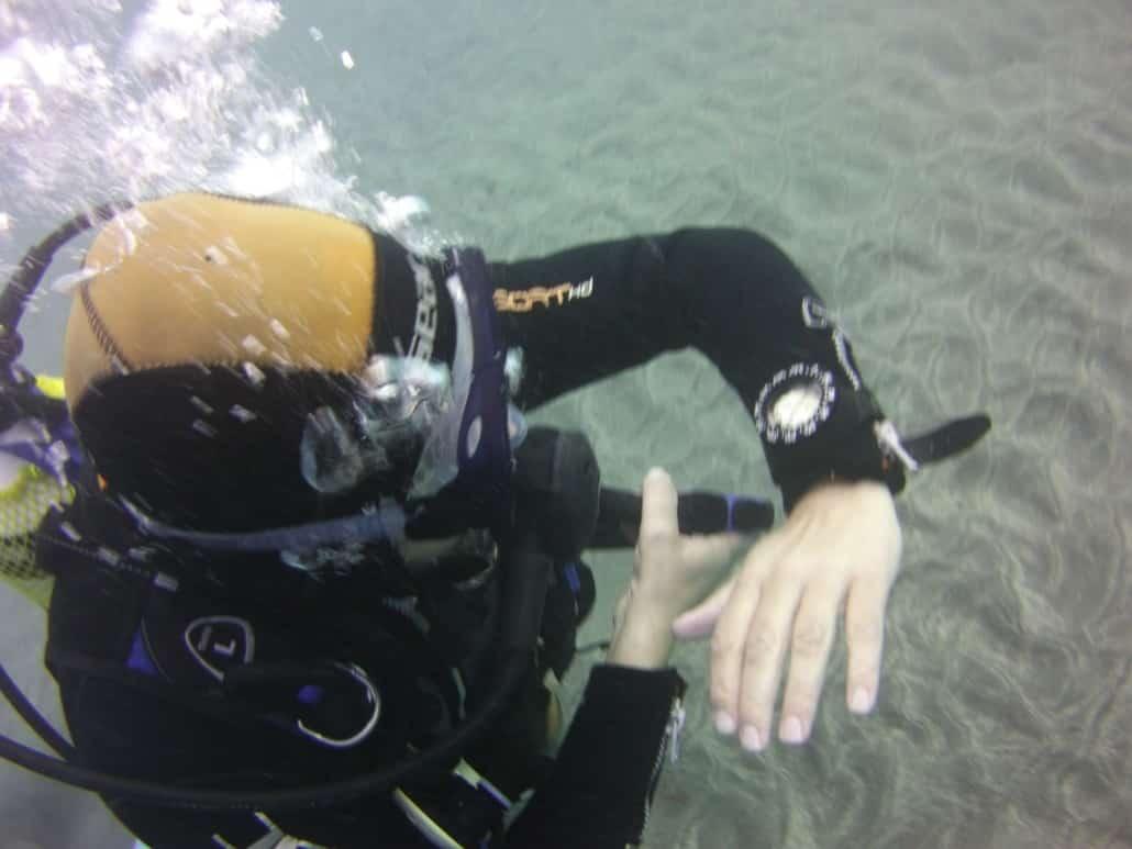 Navegación submarina