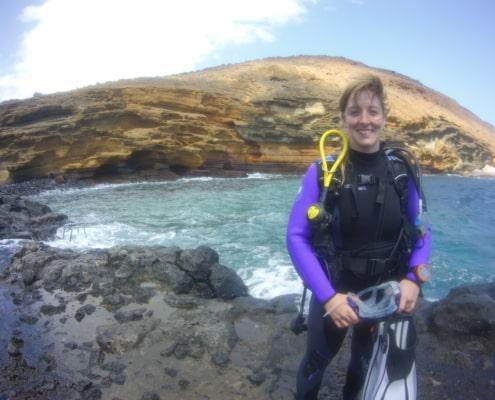 Sitio de Buceo Montana Amarilla Tenerife