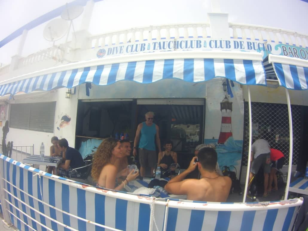 Club de buceo ocean trek