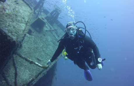 inmersión en Tabaiba
