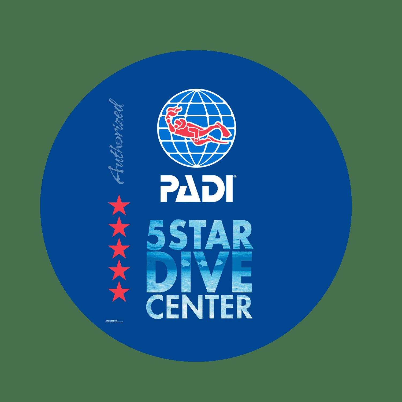 PADI 5 estrellas