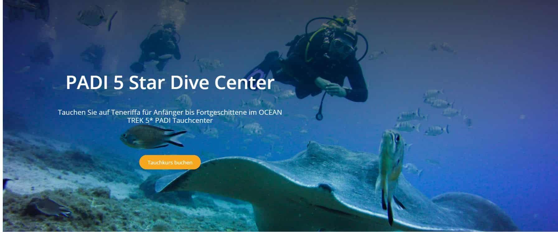 Ocean Trek PADI 5 estrellas